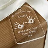 First Fathers day gift tag, 1st fathers day gift idea, daddy gift