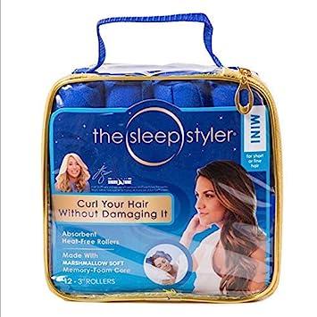 Amazon Com 12 Pcs Lot 2018 Best Seller Cotton Curlers Sleep Styler Blue Hair Roller Magic Hair Roller Diy Styling Tools Beauty