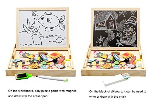 Lewo Wooden Educational Toys Magnetic Art