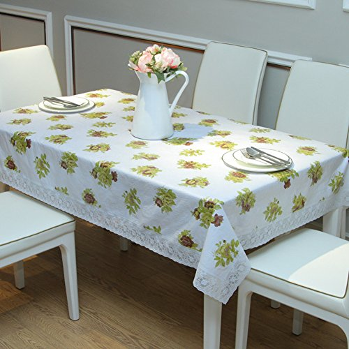 Pvc table cloth,waterproof and oil-proof and ironing-free plastic sheeting art,hotels lace garden tablecloth soft glass-C 136x180cm(54x71inch)