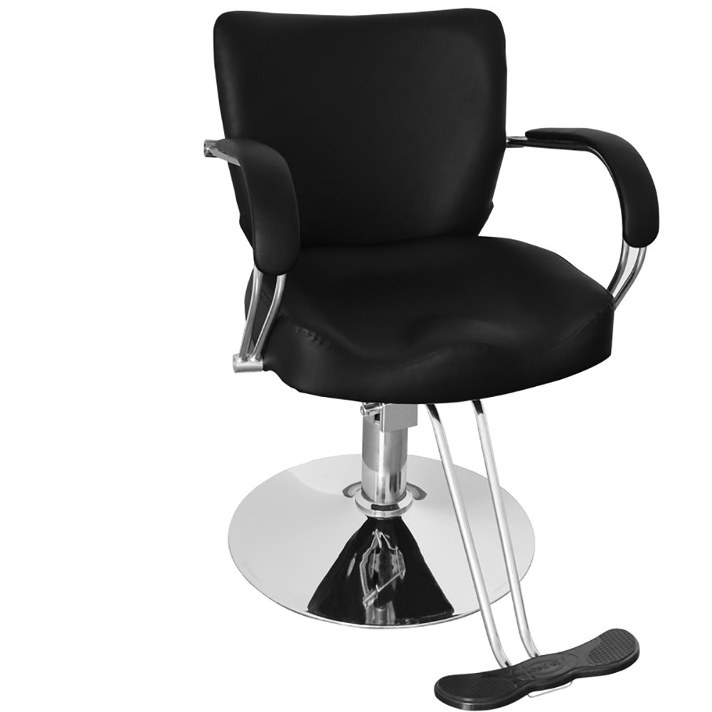 Hydraulic Barber Chair, WarmieHomy Hairdressing Chair Salon Tattoo Shaving Styling Chair with Footrest(74 * 60 * 80cm)