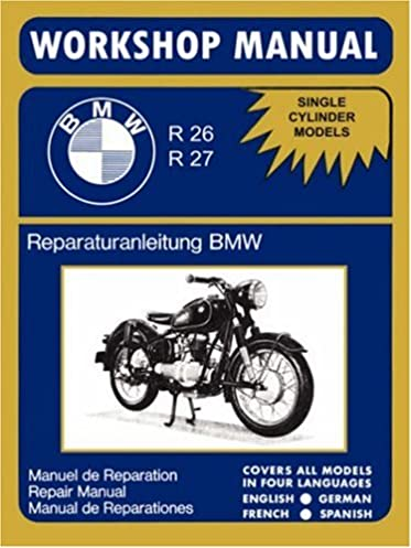 bmw motorcycles factory workshop manual r26 r27 1956 1967 bmw rh amazon com BMW X5 Jaguar Cars