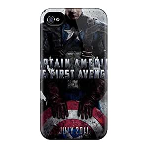 Shock-Absorbing Hard Phone Cases For Iphone 4/4s (uEQ2268JNEX) Support Personal Customs High-definition Ant Man Skin