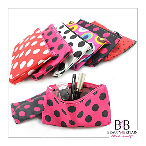 20 х MAKE-UP BAGS 20 STYLES COLOURS COSMETIC BAGS 20 x 12 cm. WHOLESALE UK
