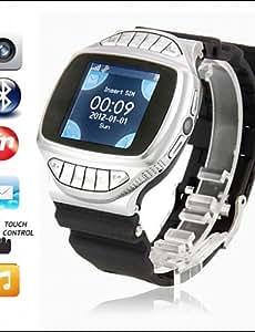 Para Vestir - para - Smartphone - BSW - GD950 - Reloj elegante Llamadas con Manos Libres -Seguimiento de Actividad/Temporizador/Reloj , black