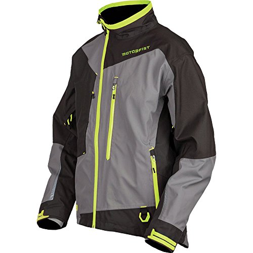 Motorfist Rekon Snowmobile Jacket Limited (L, Black/Stealth/Hivis)