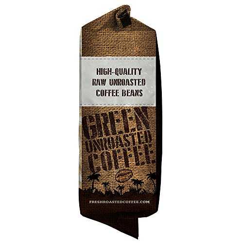 Fresh Roasted Coffee, Unroasted Indian Monsoon Malabar, Kosher, 5 Pound