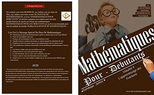 L'apprentissage de Fractions (Volume 4): Mathematiques Pour Debutants (French Edition)