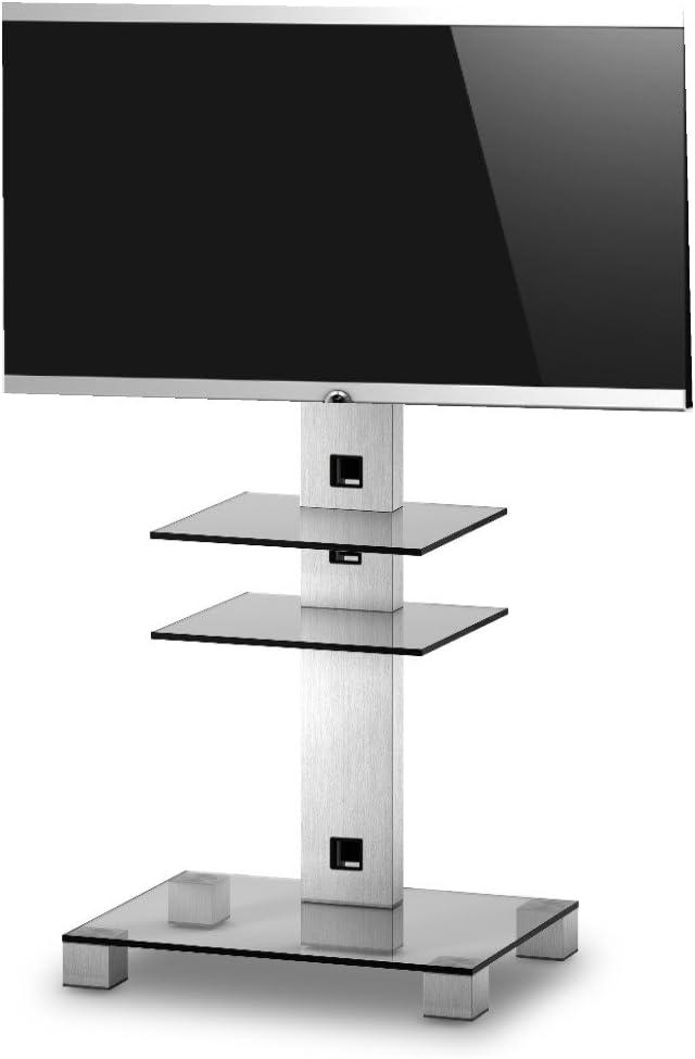 RO&CO - Peana de TV con 2 Estantes. Alto: 126 cms. Vidrio ...