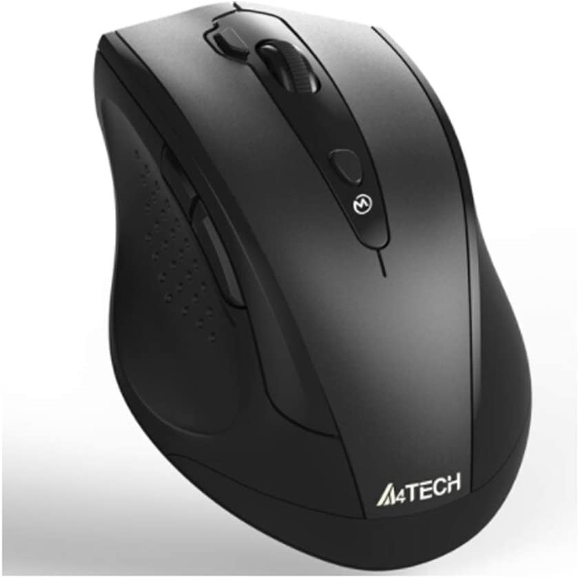 ZHONGYUE Mouse Black Notebook Mouse Long Lasting time Office Mouse Wireless Mouse Color : Black