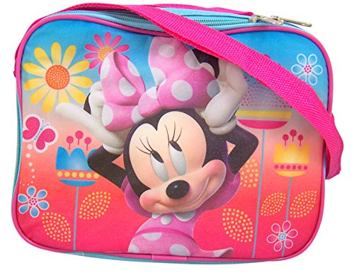 Disney Junior Minnie Mouse Lunch Bag Box, 10 Inch (Minnie Mouse Container)