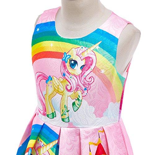 Dressy Daisy Girls My Little Pony Dress Costumes Unicorn Costumes Fancy Dress up Size 6 Pink FC127 by Dressy Daisy (Image #3)