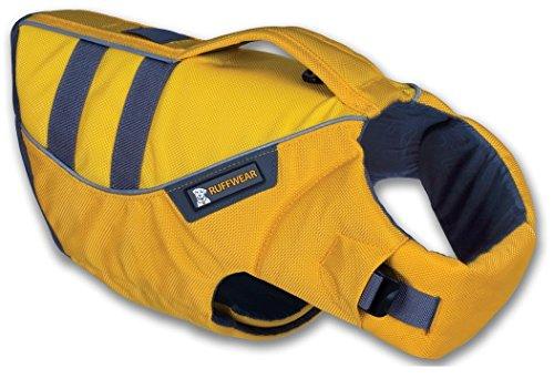 RUFFWEAR ★ K-9 FLOAT COAT ★ REFELCTIVE SAFETY DOG LIFE JACKET ★ ALL SIZES & COLORS (Medium, Yellow)