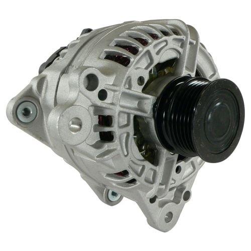 5 New Alternator For Vw Volkswagen 2.5L 2.5 Beetle 06 07 08 09 10 12 13 14 2006 2007 2008 2009 2010 2012 2013 2014, 2.5L 2.5 Jetta 11 12 13 14 2011 2012 2013 2014 11460N ()