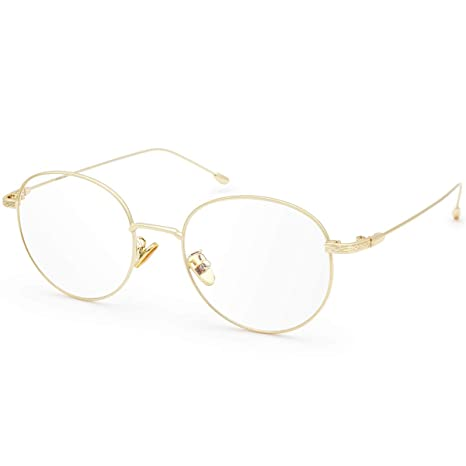 c83712fcdd Image Unavailable. Image not available for. Color  Livho Blue Light  Blocking Glasses Filter UV Glare ...