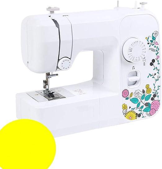 Máquina de coser portátil de 17 puntos con 2 velocidades de ...
