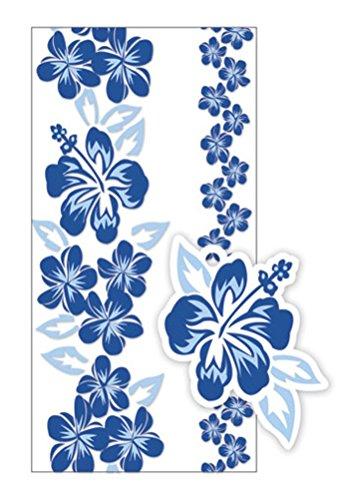 Hawaiian Candy Lei Kits 6 Pack Hibiscus Blue