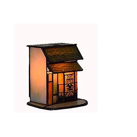 GLMAMK Lámpara de Mesa Estilo Tiffany, Arte, diseño de una ...