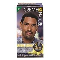 Creme of Nature Men's Haircolor, Jet Black