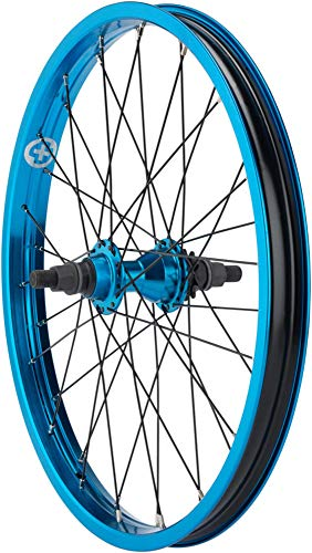 "Salt Everest Cassette Rear Wheel 20"" 9t Driver 14mm Axle Blue"