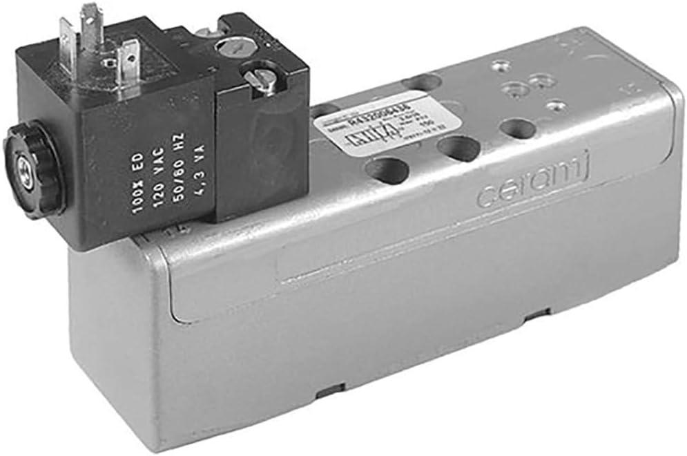 Valve; CERAM SZ1 SS GT-010061-03940 :5//2 single sol; int pilot; 24 VDC