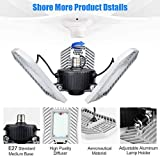 Tanbaby Deformable LED Garage Lights 80W