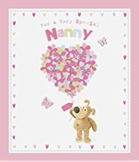 Boofle Very Special Nanny Birthday Card