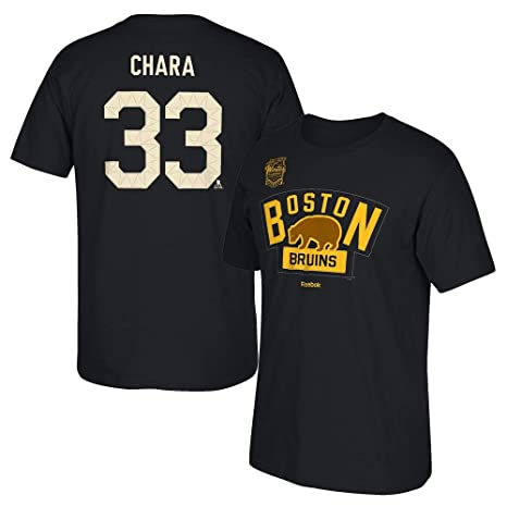 341690ec1 Men s Boston Bruins Reebok Patrice Bergeron 2016 Winter Classic T-Shirt ...