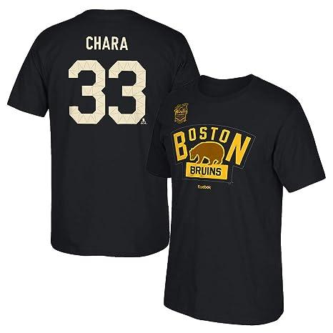 a8d1ffa3c Men s Boston Bruins Reebok Patrice Bergeron 2016 Winter Classic T-Shirt ...