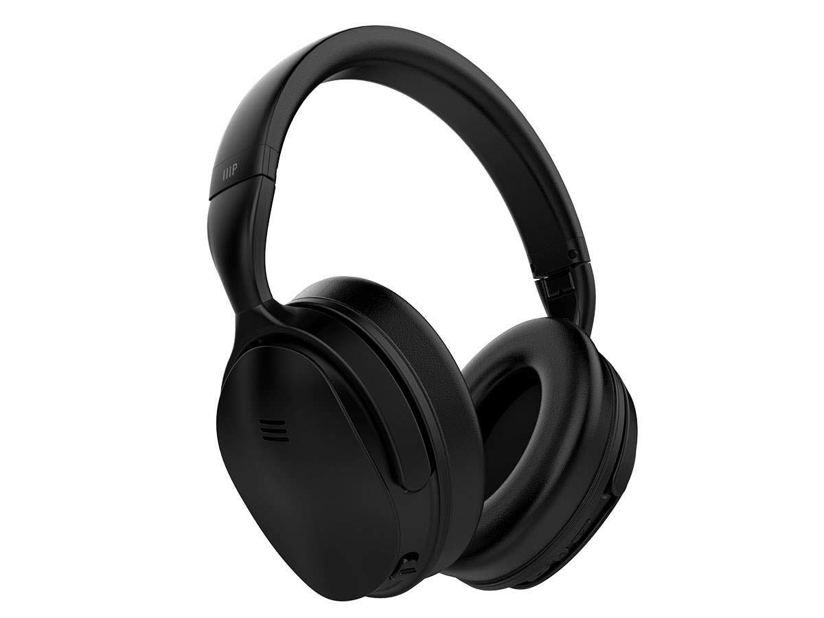 f1acad51d75 Amazon.com: Monoprice BT-300ANC Wireless Over Ear Headphones - Black with  (ANC) Active Noise Cancelling, Bluetooth, Extended Playtime: Electronics