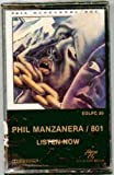 Phil Manzanera / 801 ~ Listen Now (Original 1977 Jem Records 30 CASSETTE Tape NEW Factory Sealed in the Original Shrinkwrap Features 9 Tracks ~ See Seller's Description For Track Listing With Timing)