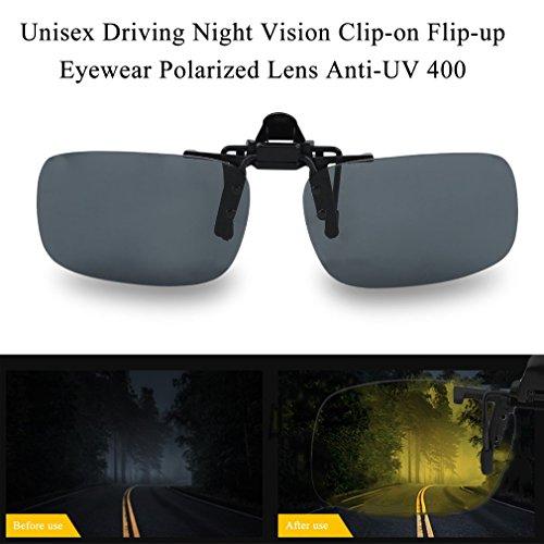 400 Anti Flip UV Lentille Cool Conduite Lunettes up Clip Vision FairytaleMM Lentille sur Nuit BxAfwqnPO