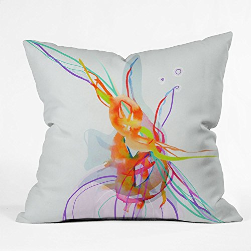 Deny Designs Marta Spendowska Nature Creatures 1 Throw Pillow, 16 x 16