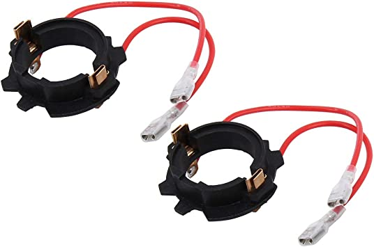 Cwtian Lampenfassung Fur Gluhbirne H7 Led Scheinwerfer Birnen Halter Halter Adapter For Vw Volkswagen Golf 5 Mk5 Gti Jetta 2 Stuck Amazon De Auto