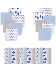 Viviland Cotton Baby Washcloths | Extra Soft and Ultra Absorbent Terry Bath Towel | 24pcs Gift Pack