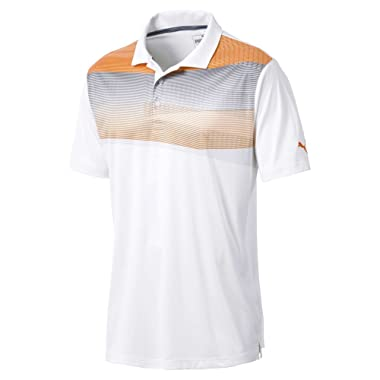 PUMA Golf Men's 2018 PWR Cool Refraction Polo