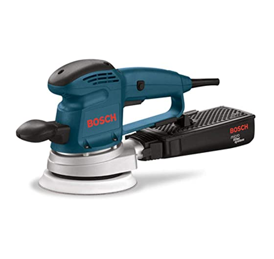 Bosch 3727DEVS 3.3 Amp 6-Inch Hook-and-Loop Random-Orbit Variable-Speed Sander Polisher with Dust Canister