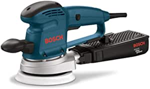 Bosch 3727DEVS 3.3 Amp 6-Inch Hook-and-Loop Random-Orbit Variable-Speed Sander/Polisher with Dust Canister