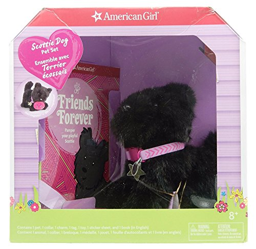 American Girl Scottie Dog Pet Set (Baby Hazel Halloween Party Game)