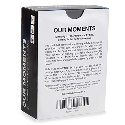 OUR MOMENTS Love Bundle: 100 Thought Provoking Conversation Starters for  Couples and 100 Messages to Text to Your Partner to Spice Up Your