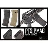 【快調ボルトストップ!!最新版】【MAGPUL PTS製】次世代 M4 PMAG TM SOPMOD 東京マルイ次世代M4電動ガン用/ブラック