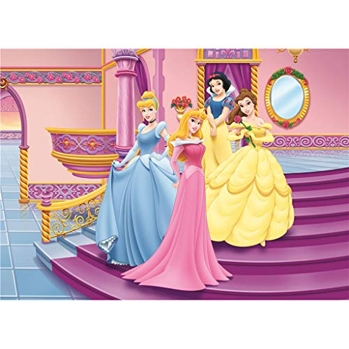 Jigsaw 1000 Pieces Adult Wooden Puzzles, Princess Cartoon