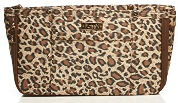 59c665a33a14 Amazon.com   PurseN New Illumin LED Handbag Insert Organizer in Leopard    Toiletry Bags   Beauty