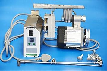 mabelstar 450 W Industrial Mute Servo sin escobillas de ahorro de energía ahorro de energía motor para máquina de coser: Amazon.es: Electrónica