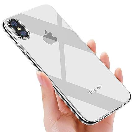 omitium Funda iPhone XS MAX, Silicona Carcasa iPhone XS MAX TPU Funda Anti-Rasguño Anti-Golpes Bumper Case Slim Protectora Caso para iPhone XS MAX ...