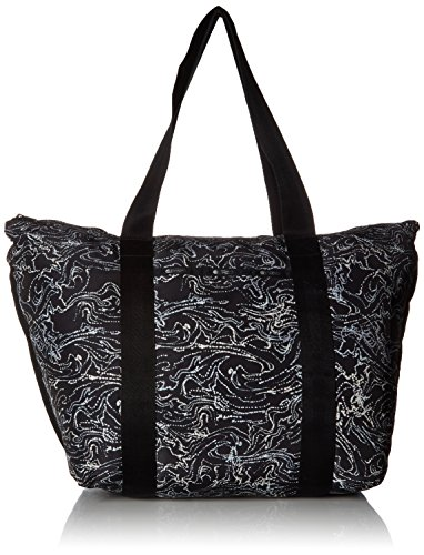 LeSportsac TRAVEL LARGE ON THE GO TOTE, new wave black ()