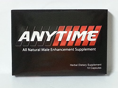 Anytime pills supercharge your male drive (10 pill) by AnyTime