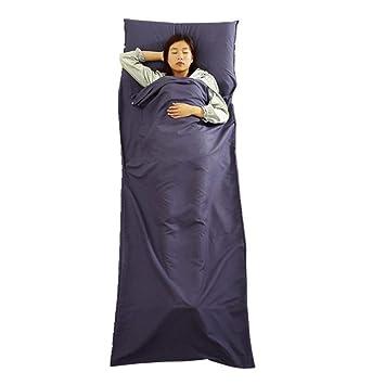 OuYee Ultrafina Saco de Dormir, Saco de Dormir (Seda Saco de Dormir Verano,