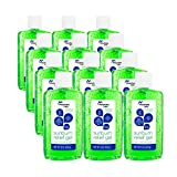 Mountain Falls Pain Relieving Sunburn Relief Gel with Aloe Vera and Lidocaine HCl, Compare to Solarcaine, 8 Ounce (Pack of 12)