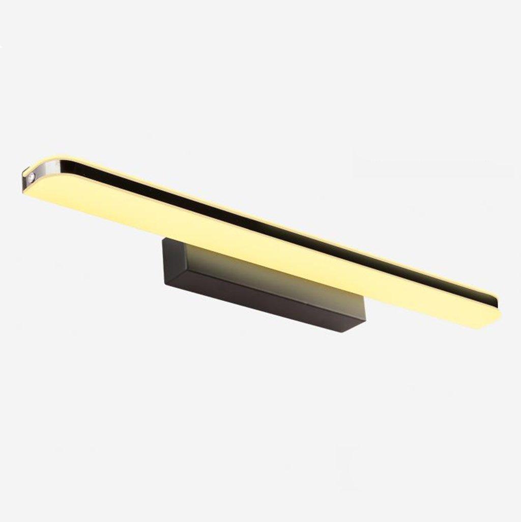 *Miroir Front Light Mirror Front Lights, Led Imperméable anti-buée Salle de bain Salle de bain Table de toilette Mirror Light Toilettes Toilet Lighting (Couleur : Lumière blanche-24W/120CM) Yxx max